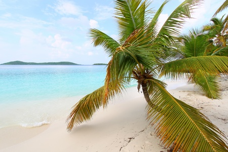 virgin islands: Beautiful sunny day at Solomon Bay in the United States Virgin Islands