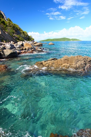 virgin islands: Amazing British Virgin Islands on a beautiful sunny day Stock Photo