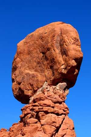 Balanced Rock of Arches National Park in the southwest United States photo