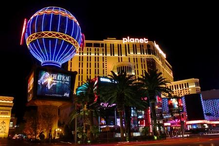 ラスベガス, アメリカ - 2011 年 11 月 30 日: プラネット ハリウッド リゾート & カジノ、ラスベガスのストリップ、アラジンとして以前知られていた