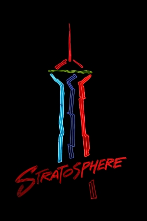 Las Vegas, USA - August 26, 2009: The Stratosphere Las Vegas hotel and casino opened in Nevada in 1996.  This entrance sign shows a rendition of the Stratosphere Tower which stands at over 1,100 feet in height.  Stock Photo - 13626977
