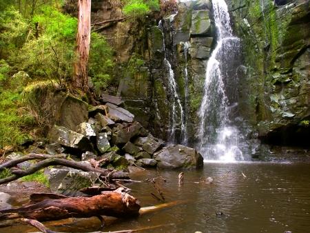 Phantom Falls in the Angahook-Lorne State Park of Victoria, Australia Stock Photo - 14408801