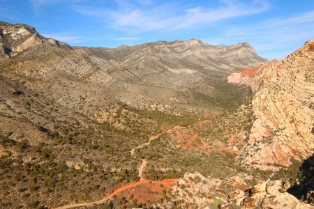 west of Las Vegas in Nevada photo