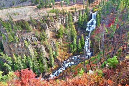 undine: Undine Falls Yellowstone National Park