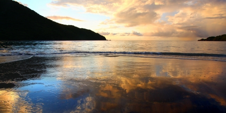 brewers: Sunset over Brewers Bay on Tortola - British Virgin Islands