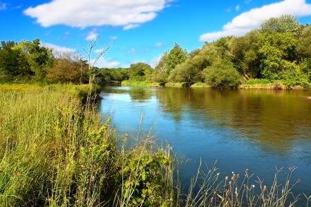 Kishwaukee River in Northern Illinois