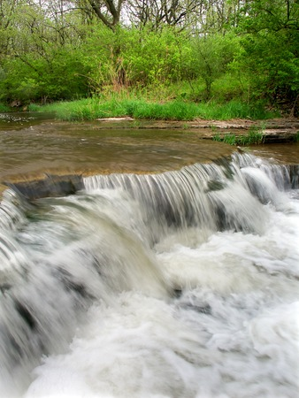 Des Plaines Conservation Area Waterfall photo