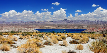 mohave: Lake Mohave Landscape Nevada