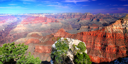 Grand Canyon National Park is one of the most famous natural wonders in the United States Stock Photo