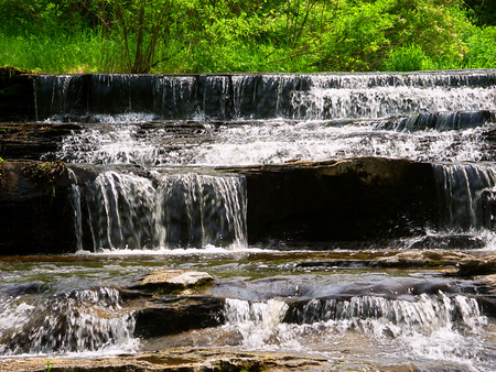 Skillet Creek Falls in Wisconsin