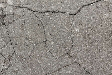 A beautiful background of a gray concrete wall with cracks - great for a cool wallpaper
