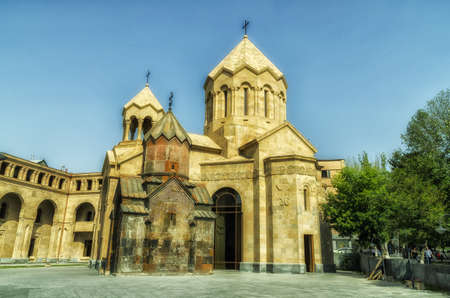A Christian church in Armenia, Yerevan