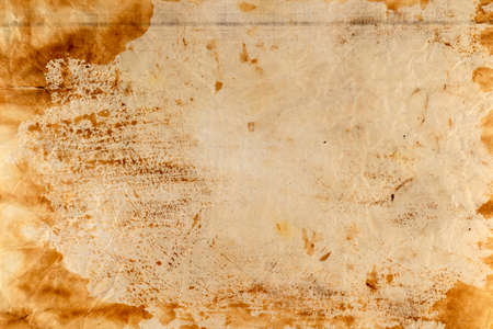 A burned old sheet of paper with a transparent background