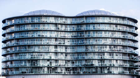 A beautiful shot of the Gemini Residence building in Denmark