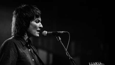 BRISBANE, AUSTRALIA - Oct 10, 2017: Jen Cloher Band at Brisbane Festival 2017