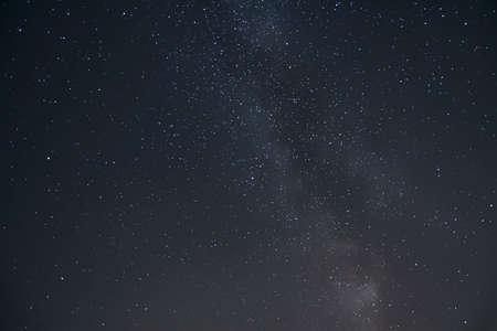 A beautiful shot of a starry night sky