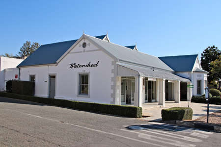 PRINCE ALBERT, SOUTH AFRICA - Jun 02, 2019: The Watershed Art Gallery comprises of four interlinked showrooms of interior design, art, furniture and fashion. This is a popular tourist attraction Stock fotó