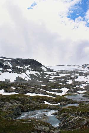 A breathtaking scenery of beautiful Atlanterhavsveien - Atlantic Ocean Road, Norway
