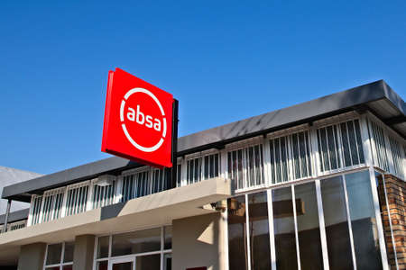 PRINCE ALBERT, SOUTH AFRICA - Jun 02, 2019: Absa bank sign on the side of a building. Editorial