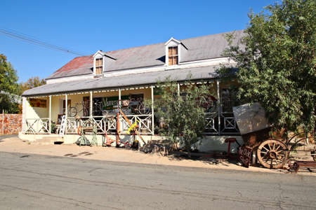 PRINCE ALBERT, SOUTH AFRICA - Jun 02, 2019: The Olde Shop is an antique store and is popular tourist attraction in the town.