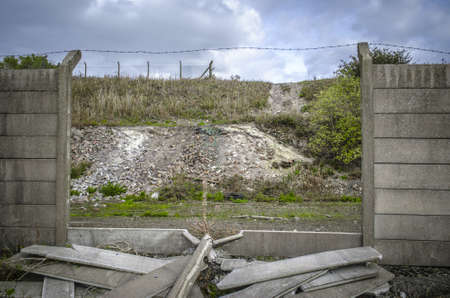 A contaminated land used by a chemical industry in the United Kingdom