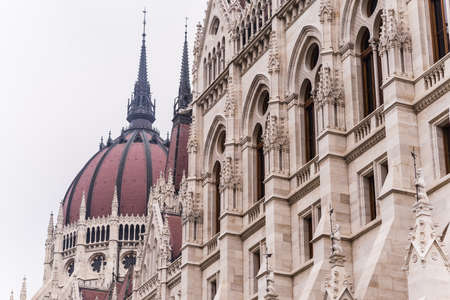 budapests impressive archtecture. It is the capital of hungary