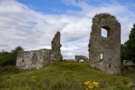 An abbey ruins in county mayo, republic of ireland
