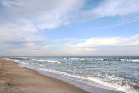 A wide angle shot of the Fernandina Beach, Florida