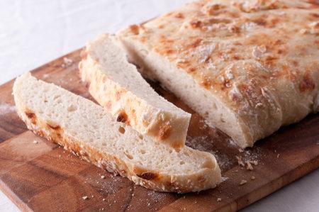 home made ciabatta bread