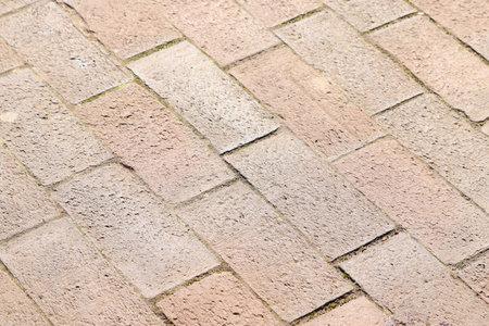 A closeup shot of rectangular stones next to each other
