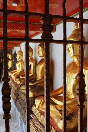 unblemished: Buddha at Wat Pho Mangklaram unblemished.