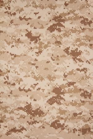 army camo: US marine desert marpat digital camouflage fabric texture background Stock Photo
