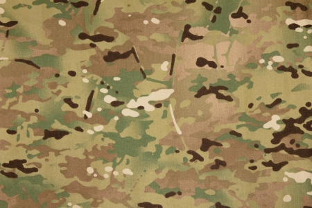 Armed force multicam camouflage fabric texture background photo