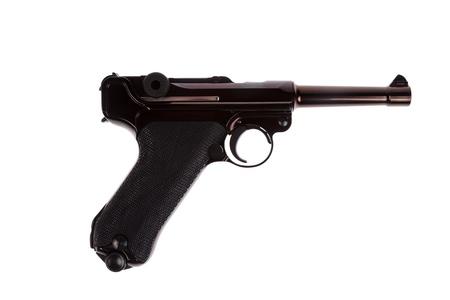 luger: German luger world war 2 pistol right side