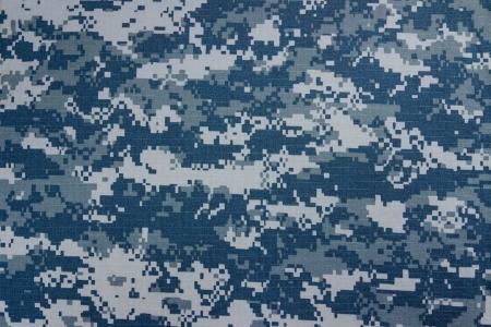 Amerikaanse marine digitale camouflage stof textuur achtergrond Stockfoto