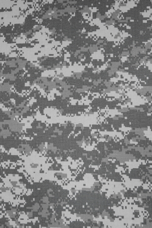Amerikaanse leger stedelijke digitale camouflage stof textuur achtergrond