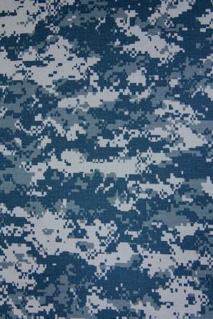 camuflaje: EE.UU. Marina digital de camuflaje de tela de textura de fondo Foto de archivo
