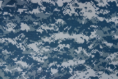 US navy digital camouflage fabric texture background Imagens