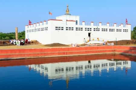 Lumbini, Nepal - Geboorteplaats van Boeddha Siddhartha Gautama