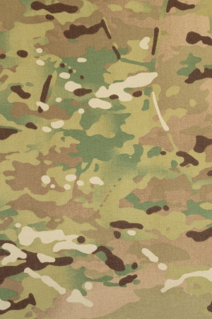 Armed force multicam camouflage fabric texture background