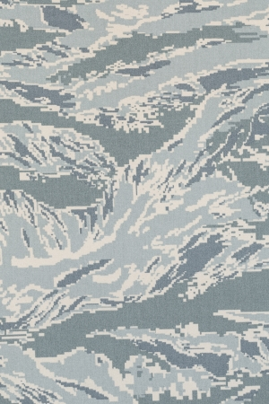 US air force digital tigerstripe camouflage fabric texture background photo