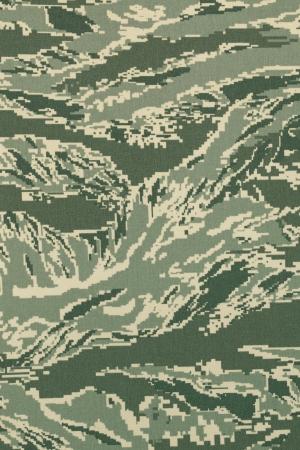 Groene digitale tigerstripe camouflage stof textuur achtergrond Stockfoto