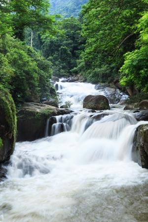 nakhon: Nang Rong Waterfall in Khao Yai national park, Nakhon Nayok, Thailand