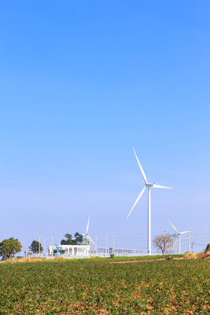 electric power station: Wind turbine power generator and electric station