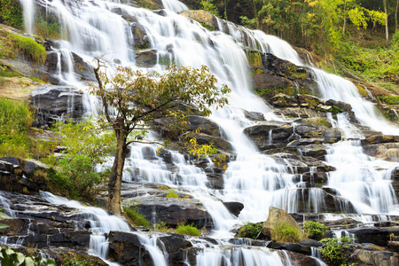 Mae Ya waterfall, Doi Inthanon National Park, Chiang Mai, Thailand photo