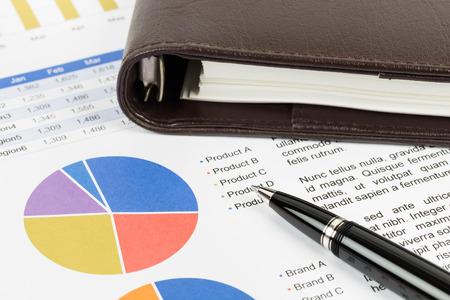 Market share report pie chart graph analysis