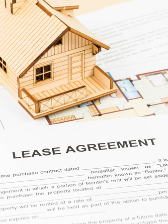 House lease agreement document