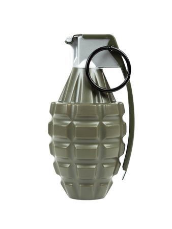 frag: Grenade frag explosive mk2 on white background Stock Photo