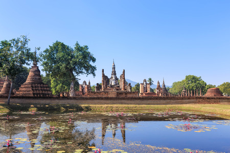 that: Wat Maha That, Shukhothai Historical Park, Thailand