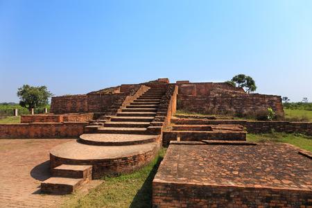 uttar pradesh: Anathapindika Stupa (Kachchi Kuti), Shravasti, Uttar Pradesh, India